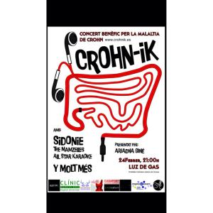 concierto benéfico de crohn-ik