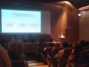 Dra. Martín Arranz en la V jornada de pacientes con Eii