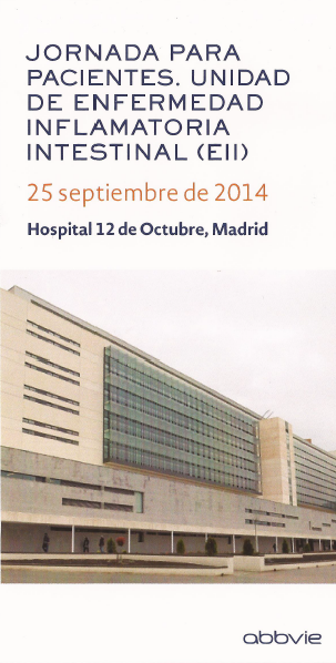 Jornada de pacientes con EII del hospital 12 de octubre